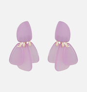Handmade Purple Earrings Collection - Slow Living Lifestyle