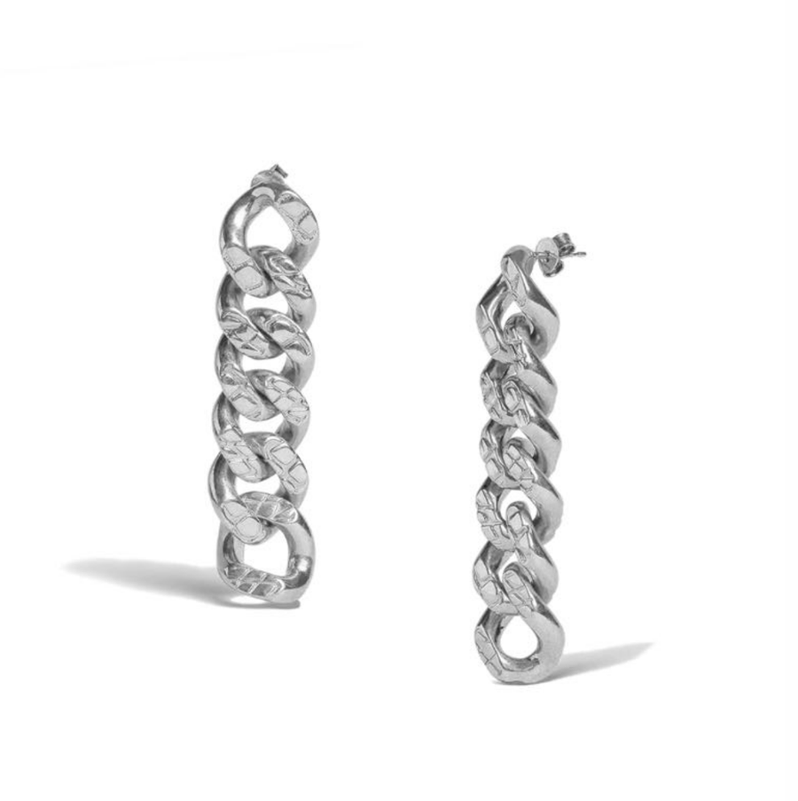 Chain Link Drop Earrings - Slow Living Lifestyle