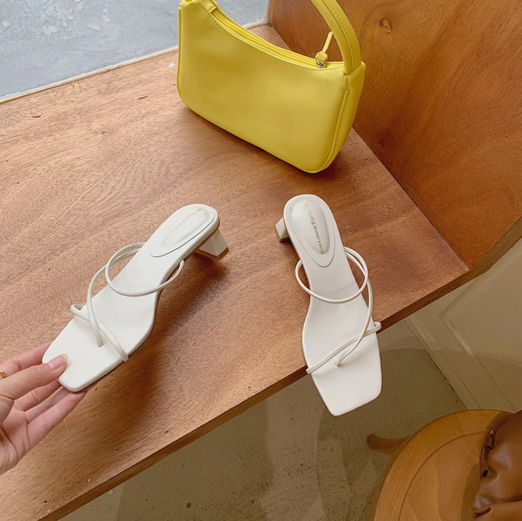 Slip On Flip-Flop Narrow Band Slippers - Slowliving Lifestyle