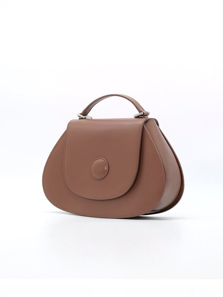 A.Cloud Balance Collection Rose Brown Handbag - Slow Living Lifestyle