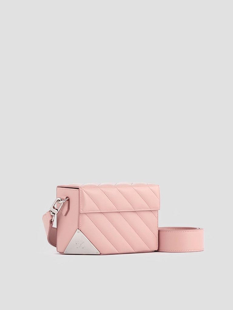 Zesh Pink Cubelet Quilted Bag - Slowliving Lifestyle