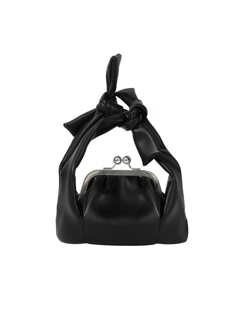 The Pleasure Isolated Anthesis Knot Bag - Black - Slowliving Lifestyle