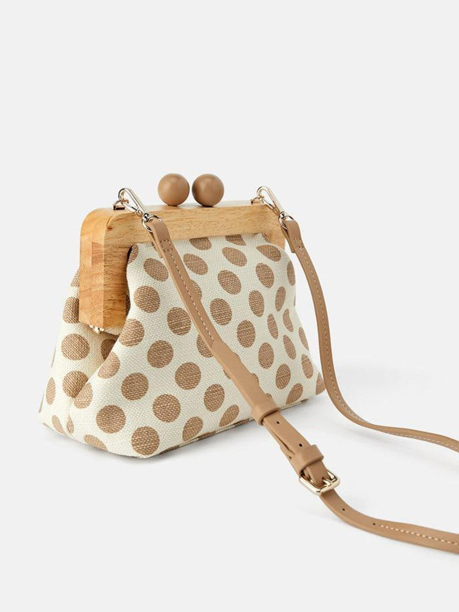 Vintage Wooden Handbag - Slow Living Lifestyle