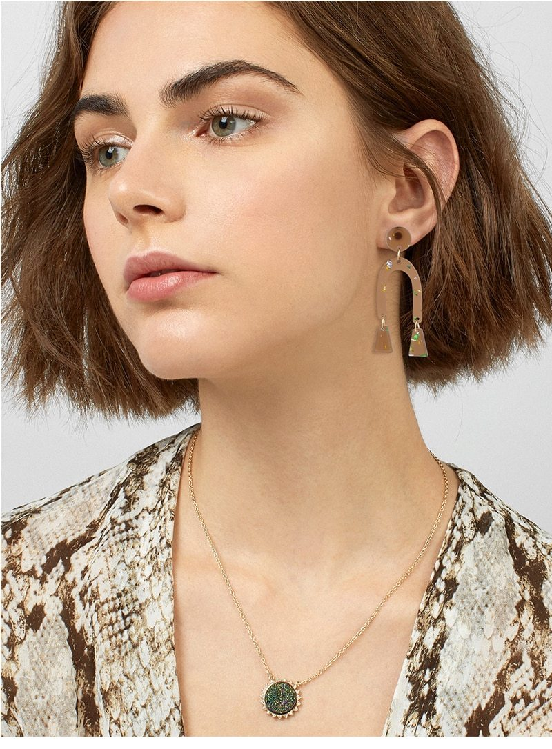 Arch Drop Dangle Earring - Slow Living Lifestyle