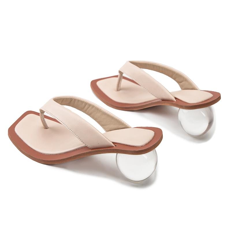 Round Heel Sandals - Slowliving Lifestyle