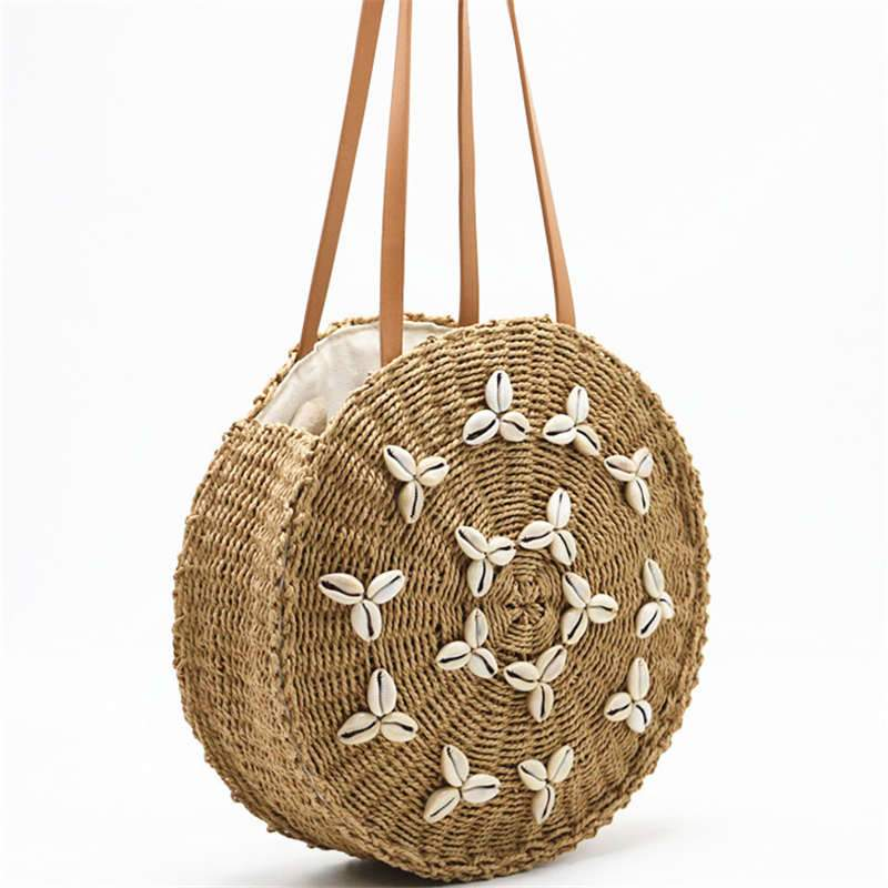 Straw Beach Bag - Slowliving Lifestyle