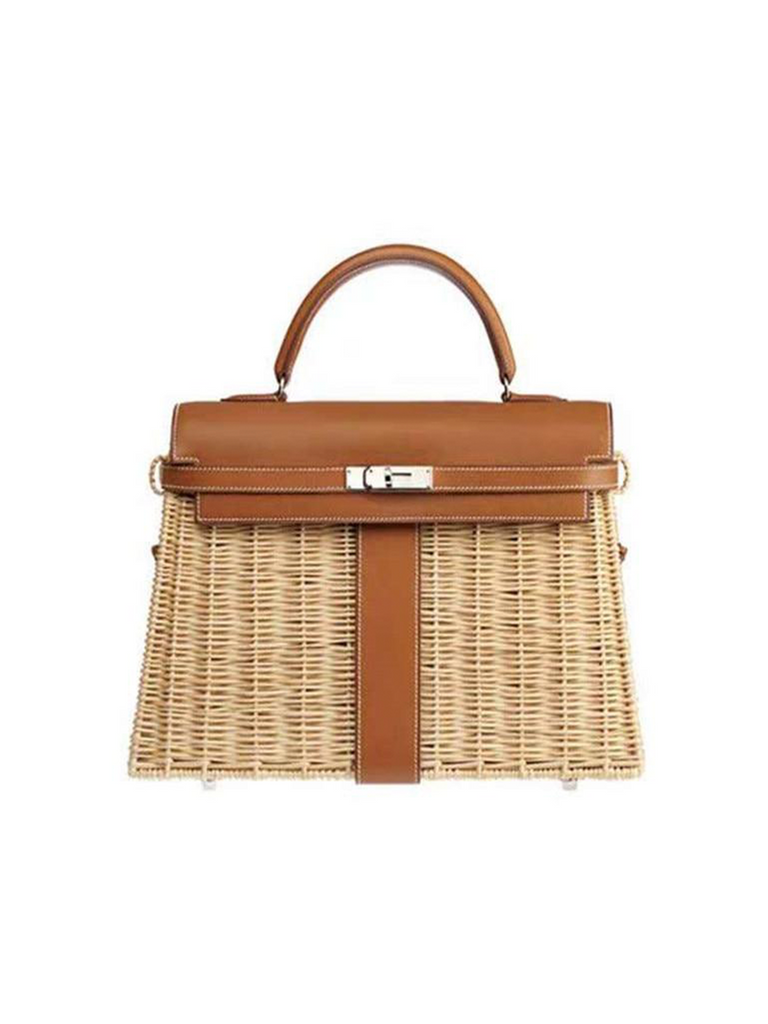 Rattan Tote Bag - Slowliving Lifestyle