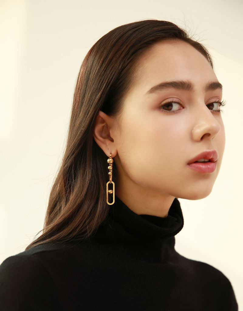 Linked Drop Earrings - Slow Living Lifestyle