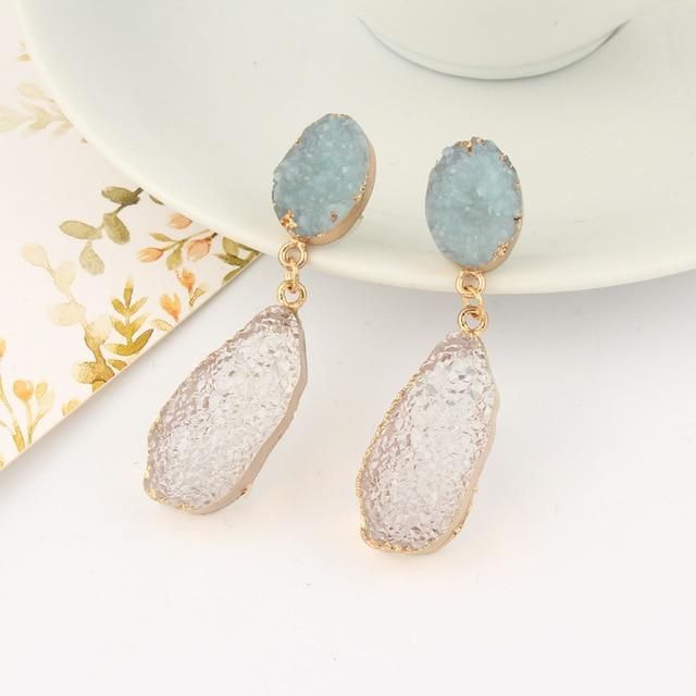 Stone Earrings - Slow Living Lifestyle