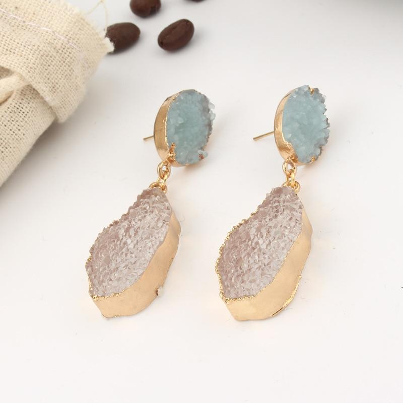 Stone Earrings - Slowliving Lifestyle