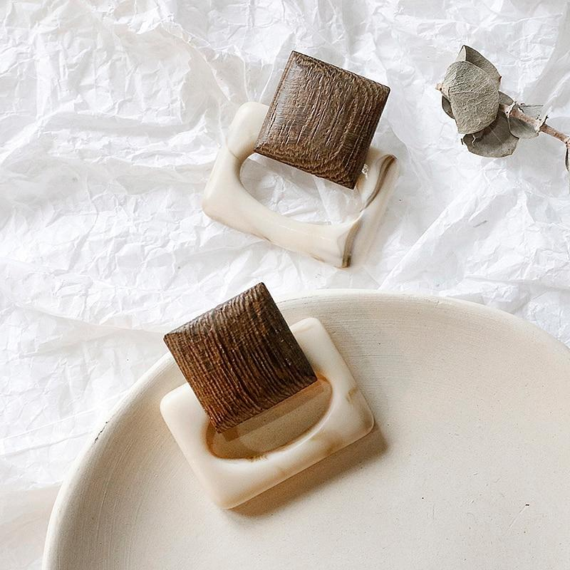 New Wood Earrings - Slow Living Lifestyle