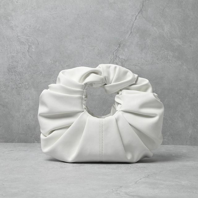 Genuine Leather Croissant Bag - Slowliving Lifestyle