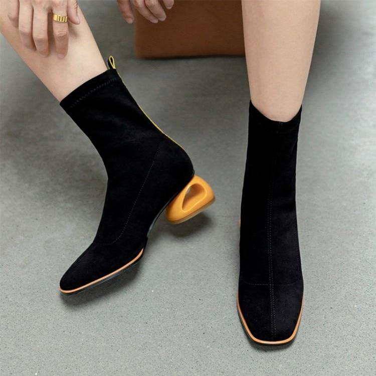 Women Ankle Boots Short Plush Shoes
