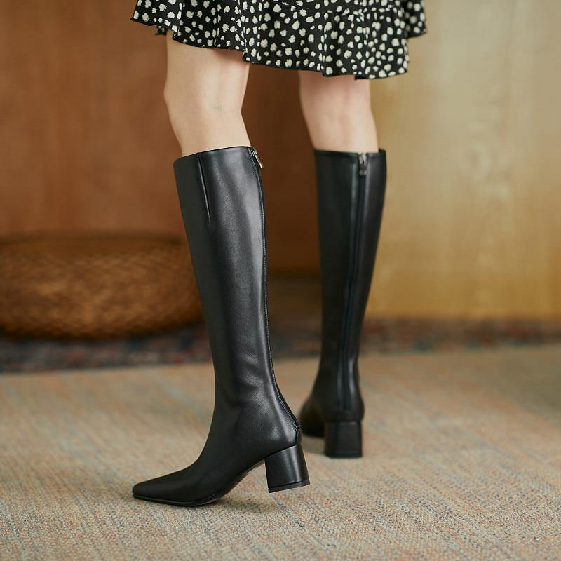 Female Booties Woman Knee High Boots