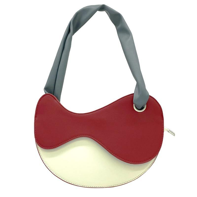 Casual Saddle Handbags for Women PU Leather Shoulder Bags