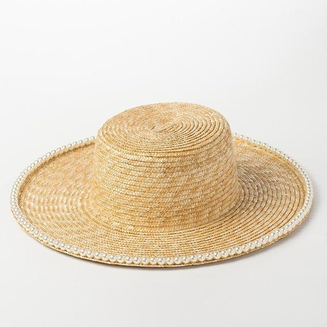 Straw Pearl Hats - Slow Living Lifestyle