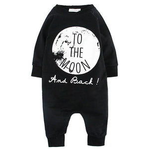 """To The Moon and Back"" and ""No Sleep"" Long Sleeve Jumpsuits"