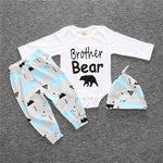 """Brother Bear"" 3-Piece Onesie Set"