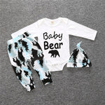 """Baby Bear"" 3-Piece Onesie Set"
