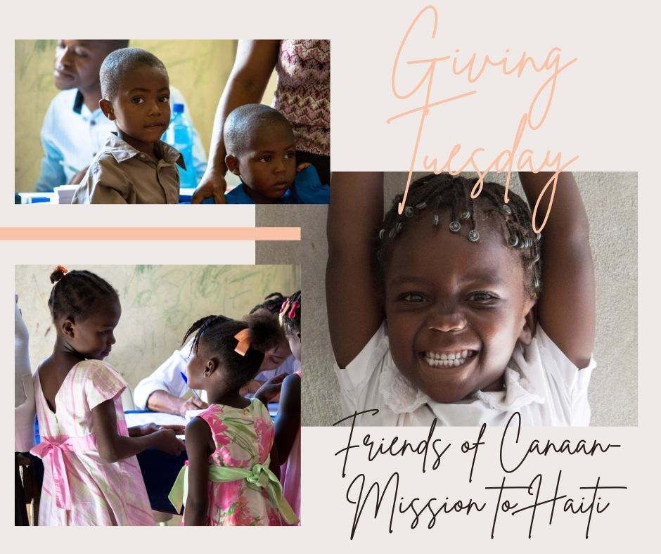 Giving Tuesday - Friends of Canaan - Mission for Haiti