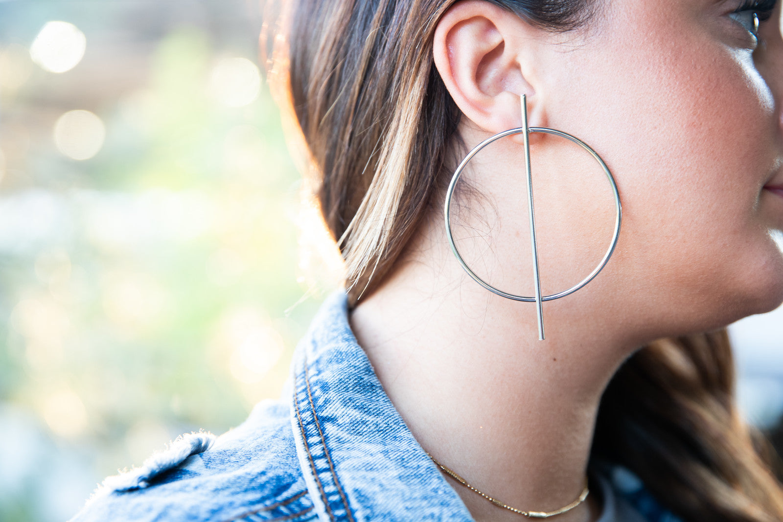 Decker Earring - Kristalize - silver