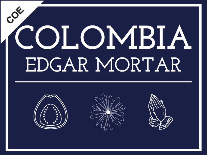 COLOMBIA EDGAR MORTAR COE (PINK BOURBON)