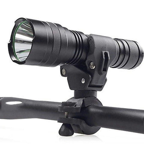Outdoor Torch Clip Mount  with 360 Degrees Rotation