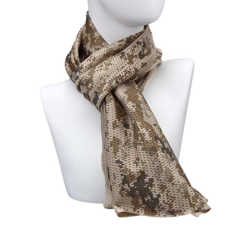 Outdoor Dustproof Ventilation Riding Multipurpose Camouflage Scarf Manggeon Neckerchief