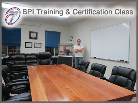 BPI Training and Testing for Building Analyst BA Certification & Envelope Professional