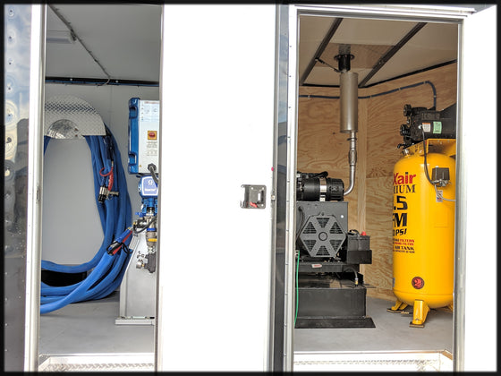 Graco E30 Spray Foam Insulation Equipment Trailer Package with Diesel Generator for sale