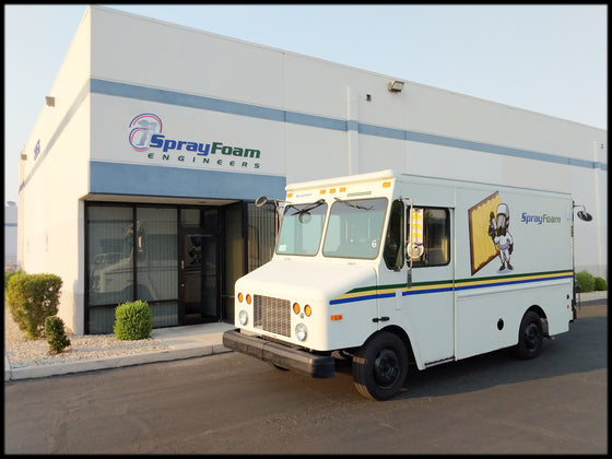 Graco Spray Foam Insulation Machine Diesel Box truck w/ Lift-Gate, best spray foam rig you can buy for the price
