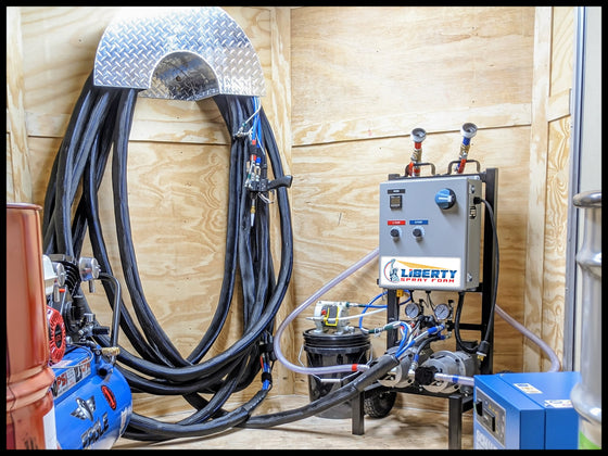 Liberty LP Spray Foam Rig (LLP12HR100)