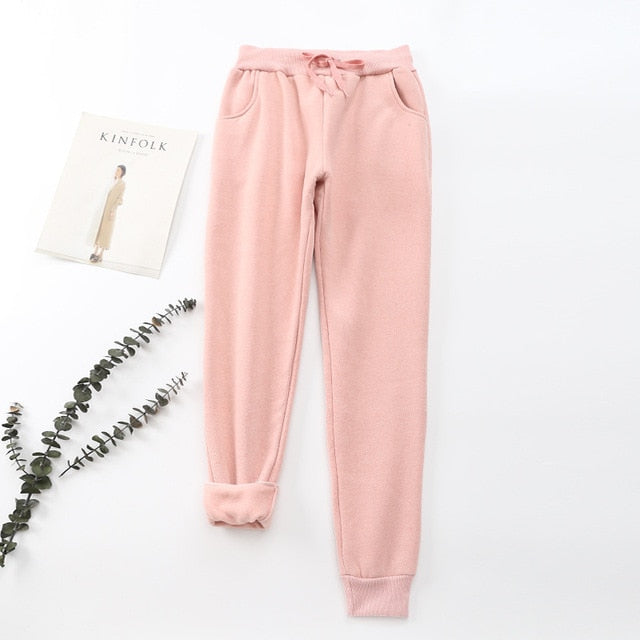 Women's Autumn/Winter Thick Sweatpants