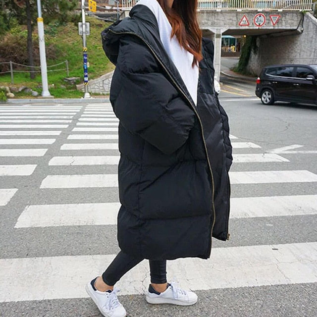 Women's Warm Oversize Hooded Parkas