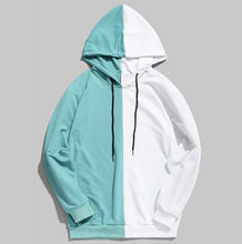 Load image into Gallery viewer, Men's Two-Tone Cotton Hooded Jackets