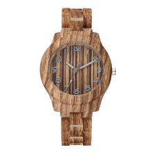 Load image into Gallery viewer, Luxury Women Roman Numerals Wooden Analog Quartz Wrist Watches