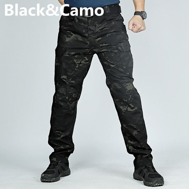 Men Tactical Cargo Sweatpants