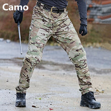 Load image into Gallery viewer, Men Tactical Cargo Sweatpants
