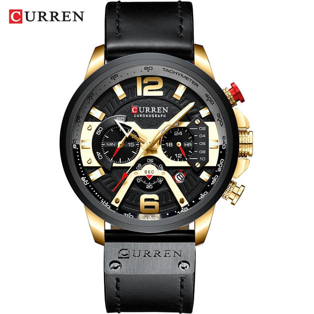 Men's Quartz Casual Military Waterproof Wrist Watches
