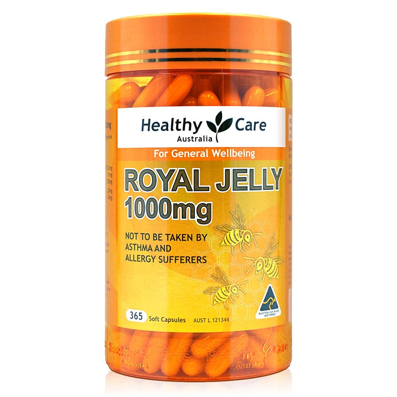 Royal Jelly Propolis Capsules Dietary Supplement