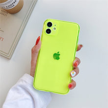 Load image into Gallery viewer, Fluorescence Sport Phone Case for iPhone 11 Pro X XS MAX XR 7 8 6 Plus