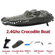 Load image into Gallery viewer, 2 in 1 RC Racing/Mini Crocodile Head Controlled Boats