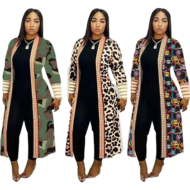 Autumn Long Sleeve Ladies Cardigans