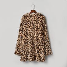 Load image into Gallery viewer, Women's Leopard Fur Jackets