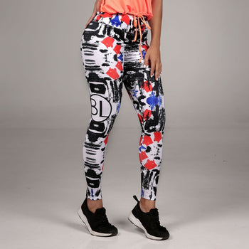 Sublimated Leggings Multi Color