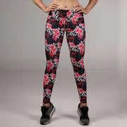 Print Supplex Leggings Multi Color
