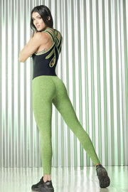 Supplex Body Suit Green Jaspy