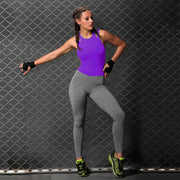 Supplex Body Suit Purple