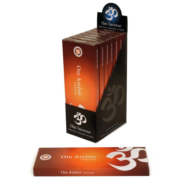 Amber - OM 100% Natural Incense