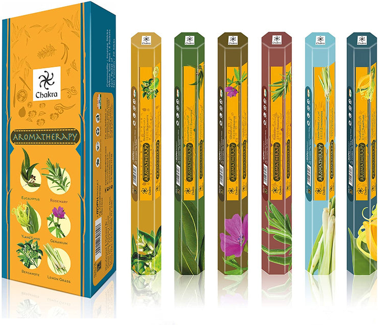 Chakra Assorted Incense Sticks 10 Pack 200 Sticks
